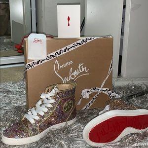 Christian Louboutin high top women's sneakers